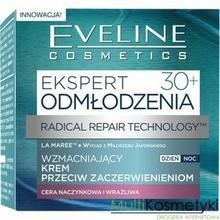Eveline Ekspert 30+, wzmacniający krem przeciw zaczerwienieniom dzień/noc, 50 ml