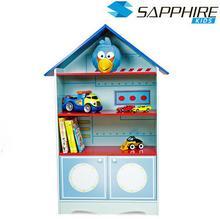 Sapphire Kids Regał z półkami do pokoju dziecka domek