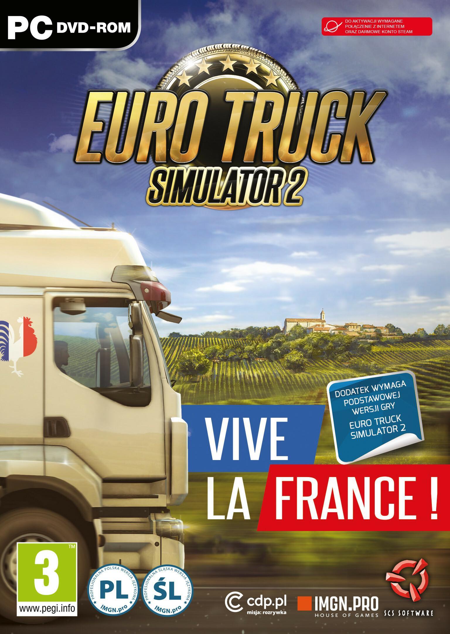 Euro Truck Simulator 2 Vive La France PC