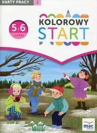Kolorowy Start 5 I 6 Latki Karty Pracy Część 3 Wiesława żaba