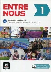 Entre nous 1 Podręcznik z ćwiczeniami + 2CD - Praca zbiorowa