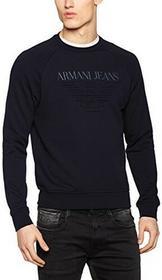 Armani Jeans Armani dżinsy męskie Sweatshirt 3y6m036j0bz - krój regularny xl B01LY64WDL