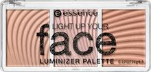 essence essence Light Up Your Face Paleta Rozświetlaczy 10 ready, set, glow! ESS759263