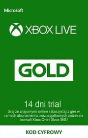 Xbox Live Gold 14 dni TRIAL subskrypcja - Darmowa dostawa, Natychmiastowa wysyĹka, Szybkie pĹatnoĹci