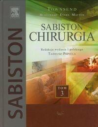 Urban & Partner Sabiston Chirurgia Tom 3 - Townsend Courtney M.