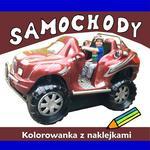 Love Books Samochody Kolorowanka z naklejkami Agnieszka Wileńska