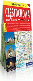 ExpressMap praca zbiorowa see you! in Częstochowa. Papierowy plan miasta 1:22 000