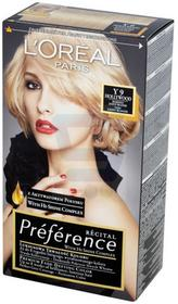 Loreal Recital Preference Farba do włosów Bardzo Jasny Blond Hollywood Y9
