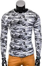 Ombre Clothing Longsleeve L70 - SZARY/MORO