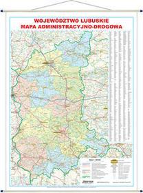 EkoGraf Województwo lubuskie mapa ścienna 1:200 000