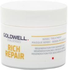 Goldwell DUALSENSES RICH REPAIR 60-sekundowa kuracja do włosów zniszczonych 25ml 0000051708
