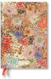 Paperblanks Kalendarz 18M 2019 Kikka Midi Horizontal