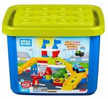 Mega Bloks Zestaw Rajdowy Warsztat Klocki 60 elementów - ekspresowa wysyłka i bezpieczeństwo zakupów  21 dni na zwrot.