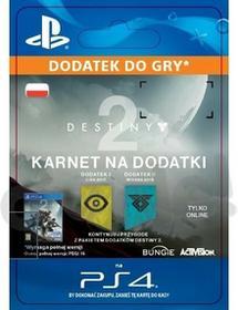 Sony Destiny 2 Expansion Pass [kod aktywacyjny]