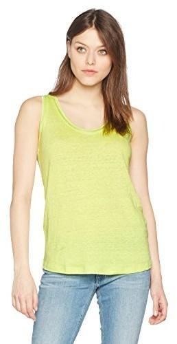 78687f4af3e78 Boss Orange Top damski tertanky, kolor: żółty, rozmiar: x-small B01MDS3WQK