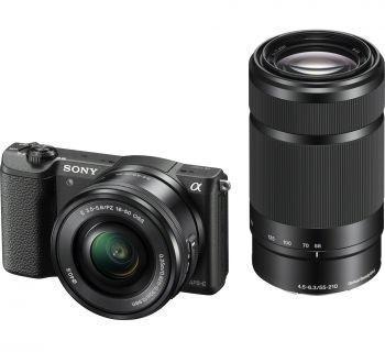 Sony ILCE-5100YB + 16-50 + 55-210 kit czarny
