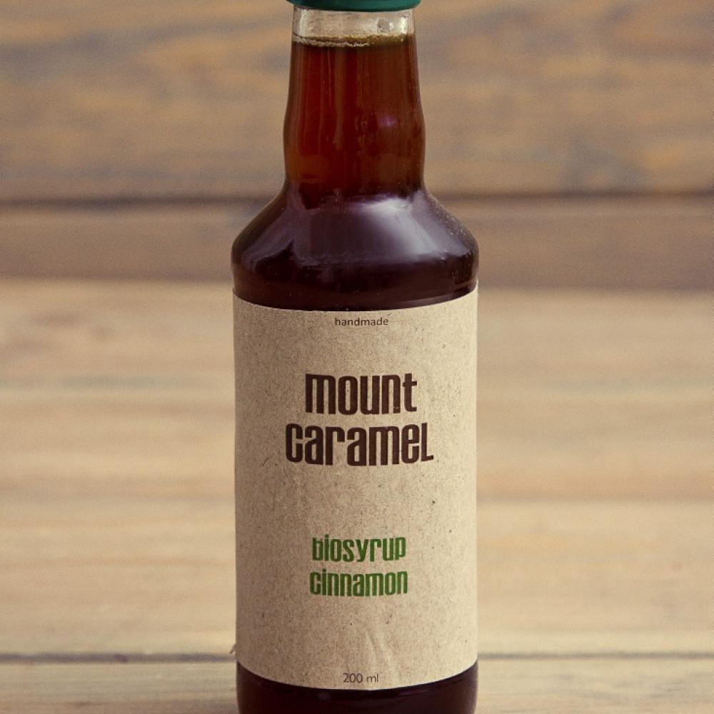 Mount Caramel BIO syrop cynamonowy 200 ml