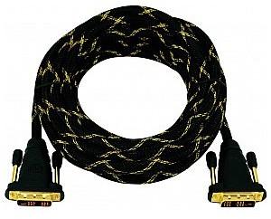 OMNITRONIC Kabel DVI 5m czarny 30228049