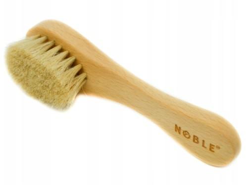 Noble eco szczotka z włosia masażu twarzy na sucho