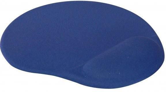Logo Podkładka pod mysz Żelowa niebieska