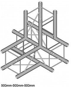 DuraTruss Kratownica sceniczna aluminiowa DT 24-T40 QUADROSYSTEM 1724200009