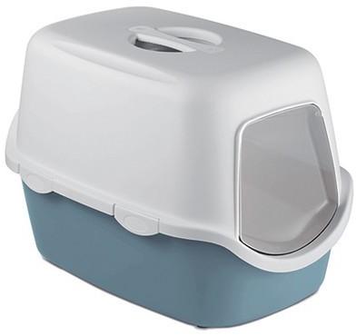 Stefanplast Toaleta Cathy z filtrem szara