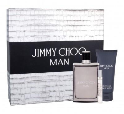 Jimmy Choo Jimmy Choo Jimmy Choo Man zestaw Edt 100 ml + Edt 7,5 ml + Balsam po goleniu 100 ml dla mężczyzn
