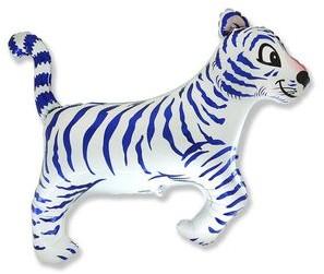 FLX Balon foliowy Tygrys biały 61 cm 1 szt 901634B