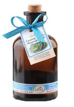Lavea Luksusowy olejek do masażu - Algi morskie - 125 ml OLE-08A