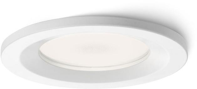 Redlux Lampa do zabudowania K/G VERO biały 12V GU5,3 50W IP44 R10394/12 R10394/12
