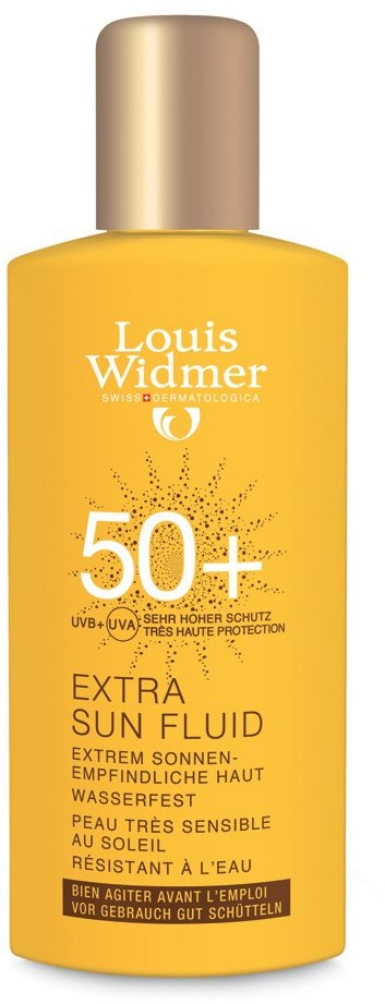 Louis Widmer GmbH Extra Sun fluid ochronny do ciała UV50 100 ml