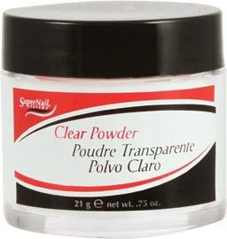SuperNail Puder akrylowy Clear Powder - przezroczysty - 21gr export-3485-0