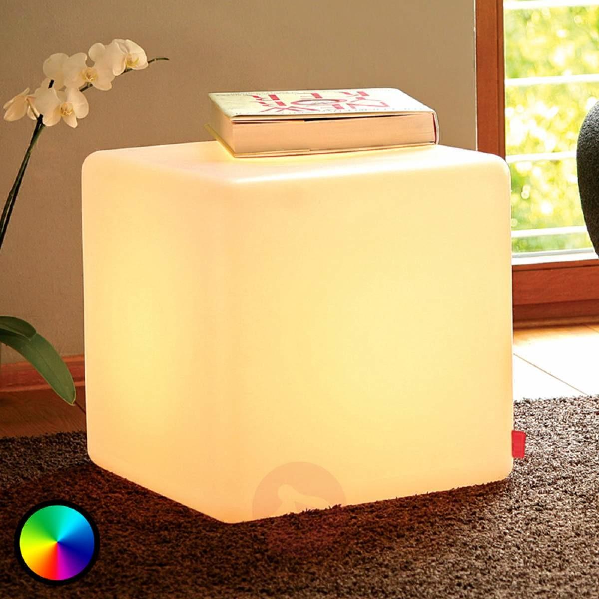 Moree Przydatna lampa dekoracyjna LED CUBE Indoor