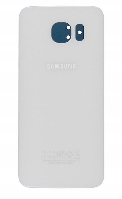 Samsung Org klapka Galaxy S6 SM-G920F - biała