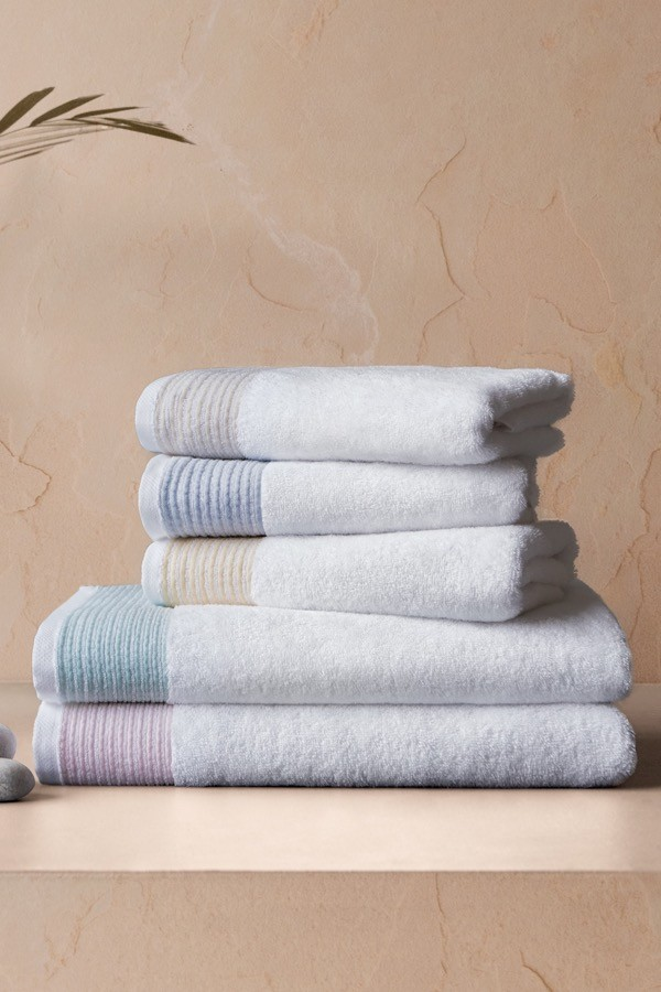 Soft Cotton Ręczniki kąpielowe MOLLIS 75x150 cm Żółty