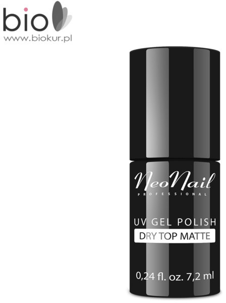 Neonail Lakier Hybrydowy UV TOP DRY MATTE bez przemywania) NeoNail 7,2 ml 6110-7
