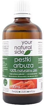 Your Natural Side 100% naturalny olej z pestek arbuza - Your Natural Side Olej 100% naturalny olej z pestek arbuza - Your Natural Side Olej