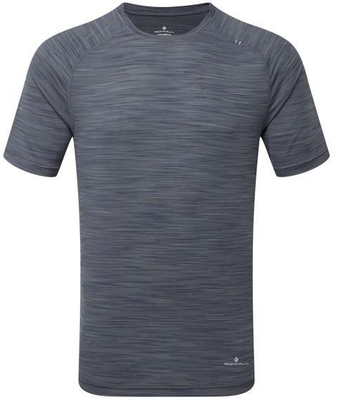 RONHILL RONHILL koszulka biegowa męska INFINITY AIR-DRY S/S TEE szara