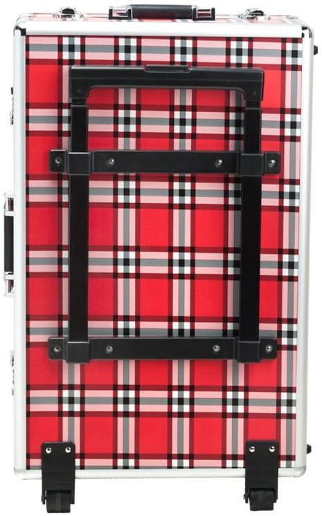 ACTIVESHOP Kufer Kosmetyczny S-015 Red Grid 10003_122854