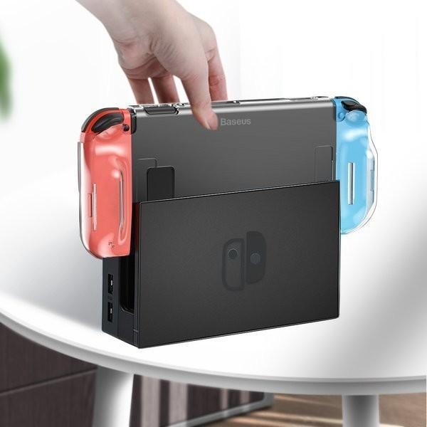 Baseus Baseus SW Basic | Etui slim case obudowa do Nintendo Switch