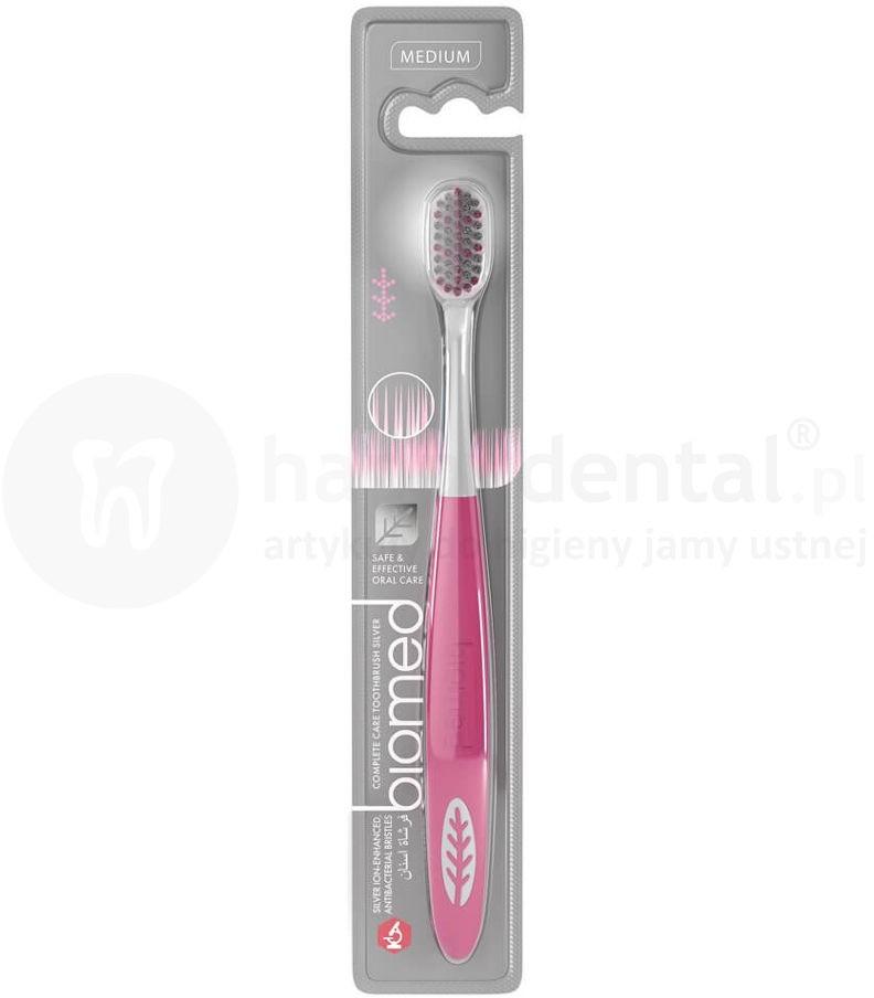 Splat Kosmetica BIOMED SILVER antybakteryjna szczoteczka do zębów