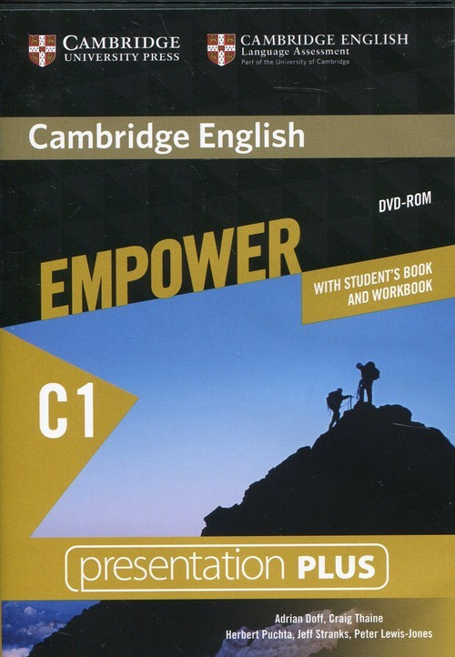 Cambridge University Press Cambridge English Empower Advanced Presentation Plus with Student's Book and Workbook Doff Adrian, Thaine Craig, Puchta Herbert, Stranks Jeff, Lewis-Jones Peter