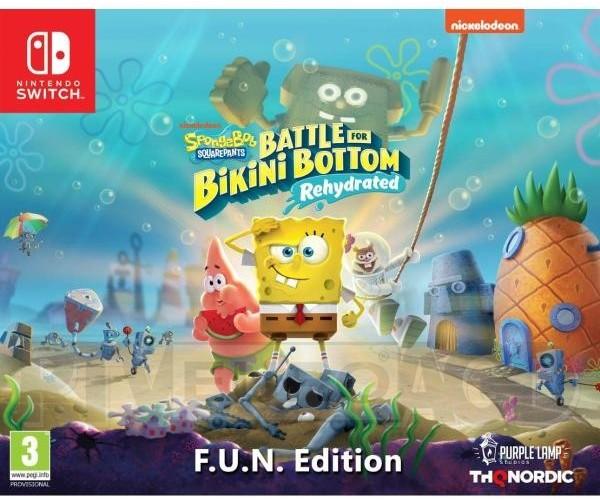 Spongebob SquarePants Battle for Bikini Bottom Rehydrated Edycja F.U.N (GRA NINTENDO SWITCH)