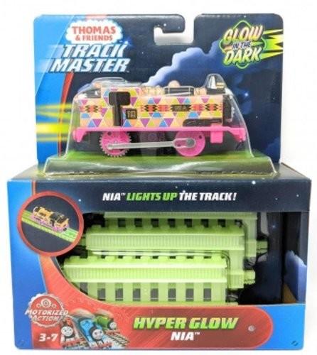 Mattel Tomek i przyjaciele Świecące lokomotywy FVJ75