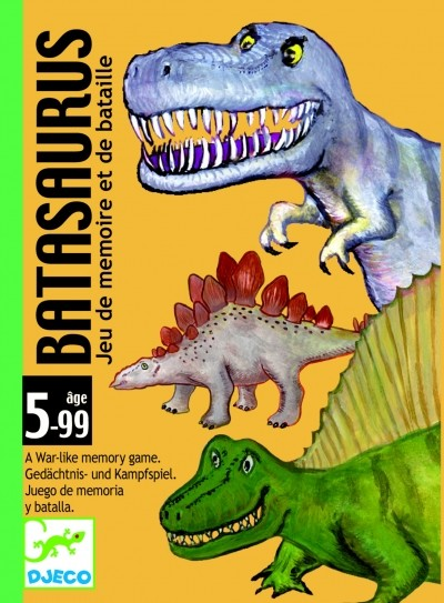 Djeco Gra karciana Batasaurus