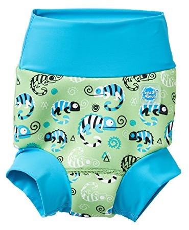 Splash About Happy Nappy pieluszka do kąpieli dla dzieci, nowy ulepszony model, zielony HNPGGS