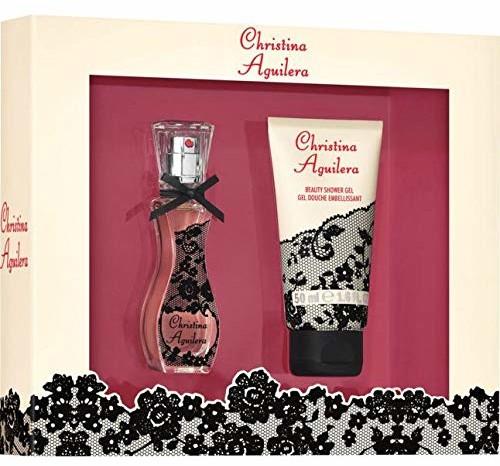 Christina Aguilera Signature Duo zestaw upominkowy 1 zestaw składa się z: Eau de Parfum (15 ml) i żelu pod prysznic (50 ml), dla niej