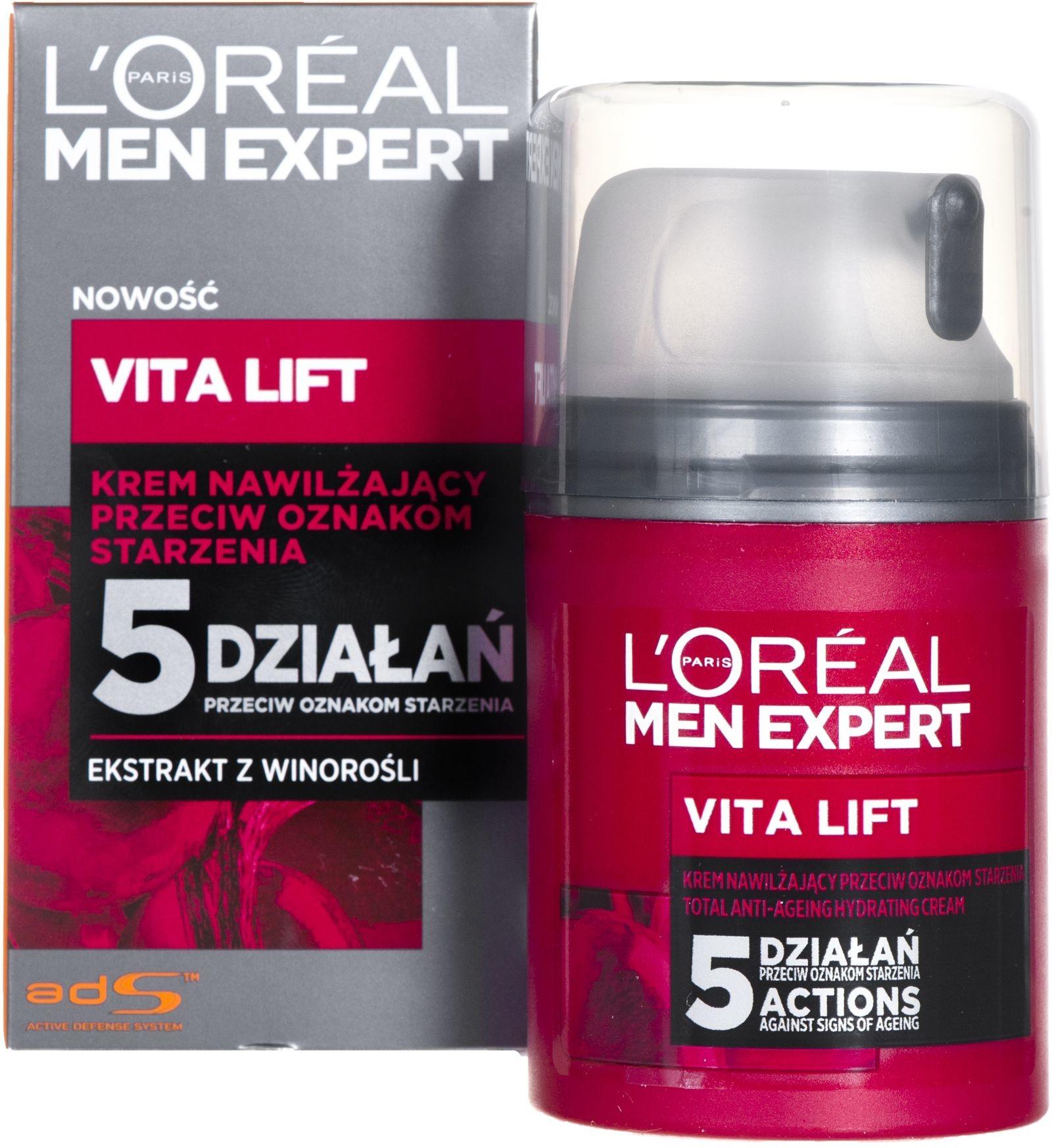 Loreal Paris Men Expert Stop Zmarszczkom 35+50ml