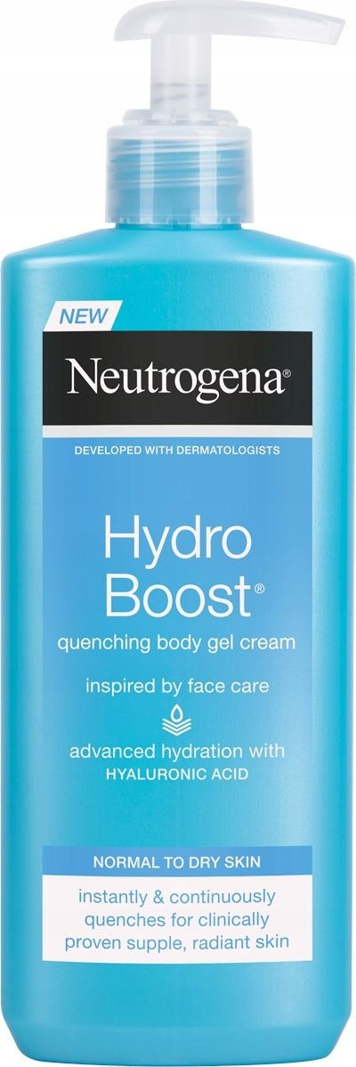 Neutrogena żelowy balsam do ciała HYDRO BOOST z kwasem hialuronowym 3574661391366