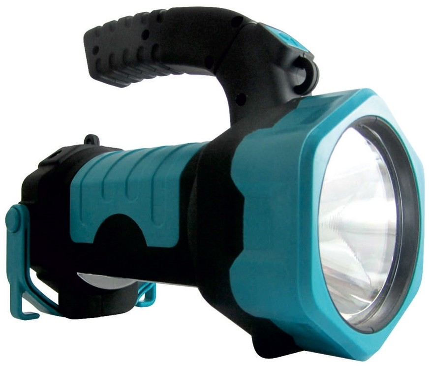 Baterie Centrum LED Latarka LED+COB/3W/3xAA zielona